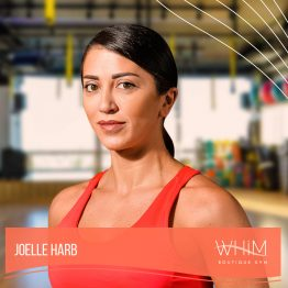Joelle Harb Fitness Trainer at Whim Boutique Gym Hamzieh Lebanon